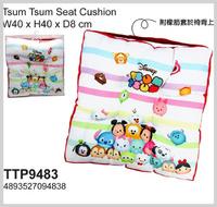 Disney Tsum Tsum 咕o臣 卡通咕口臣椅墊 方坐墊 Cushion 3025 照價8折