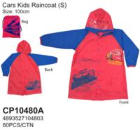 Disney Cars Mcqueen 反斗車王 閃電王 麥昆 兒童雨衣 雨具 100cm/3-4yrs_180617
