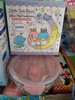 Sanrio/Little Twin Stars Glass Lunch Box 玻璃餐盒840ml 60302018