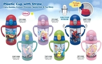港版正品-預購照價9折-Disney-冷熱雙耳式水樽400ml-Frozen-Toy-Storys-Cars-Spider-Man-Princess-小飛