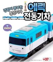 韓版韓送 TITIPO 迪迪寶 電動玩具火車頭連兩個車卡 B