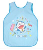 哆啦A夢小孩圍裙連衣袖(大號)小童圍裙連手袖 - 小碼070917