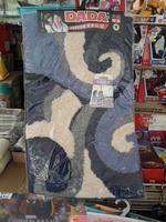 DADA加厚長毛特大柔軟防滑地毯/FLOOR MAT (約50 x 80CM)深藍色 130118(店取95折)