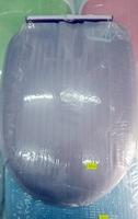 Toilet Seat 加厚油壓上裝式 缓降 油壓 廁所板_紫色_店取95折