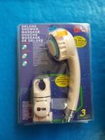 Fion Deluxe Shower脈充式3速按摩花灑連不銹鋼喉粉紅色 030118
