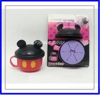 ㊣日本 Disney Mickey 米奇 Minnie 米妮 嬰兒零食杯 兒童食物盒