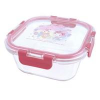 港版正品 照價9折 只限訂購優惠 My Melody Glass Food Container 多用途耐熱 冷玻璃餐盒 [800ML]