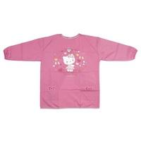Sanrio Hello Kitty 小 兒童圍裙連手袖 畫畫衣 飯衣 有碼 7116