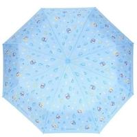 照價9折.-港版正品-只限預購優惠-Ahiru-No-Pekkle-3-Fold-Hand-Open-Umbrella-3縮起輕雨傘-50cm×6RIBS