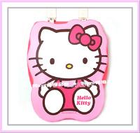 ㊣韓國 Sanrio Hello Kitty 造型 軟墊坐廁板 廁所板 (430x355mm-