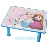 [訂貨區]Disney Frozen 魔雪奇緣 Elsa Anna 兒童桌 卡通茶几 摺合小木枱矮腳1757