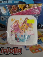 Disney Princess 公主 毛巾合/食物合9X9X4.5CM/ 27042018_