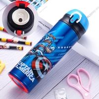 正品 照價9折 Marvel Captain America vacuum flask 美國隊長 不銹鋼直飲式真空保温壺 500ml