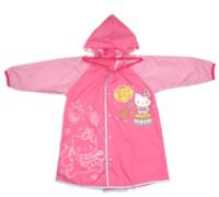 Sanrio Hello Kitty兒童可折疊雨衣(S尺碼)小童書包位可折式雨衣 - 大碼700917