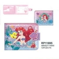 開學巡禮-港版正品-預購照價9折-Disney-美人魚公主-Marmaid-Kids-Wallet-兒童銀包