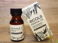 Ecols有機精油系列-檸檬草 15ml ECOLS Organic Lemongrass Essential Oil