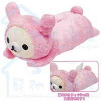 日本 San-X 精品 Rilakkuma 鬆弛熊 紙巾套 (SX1128)