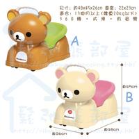<包郵>韓版 San-X 精品 Rilakkuma 鬆弛熊 嬰兒用品 BB / 幼兒 玩具車 (KR0051)