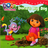 #1938 Dora The Explorer , Dora's Big Dig,故事書,課外書