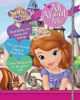#1695 Disney ,Sofia the first all about me ,蘇菲亞公主故事+遊戲書