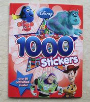 #1831 Disney Toy Story 1000 Stickers 1000 Stickers 遊戲書/練習書/課外書/貼紙書
