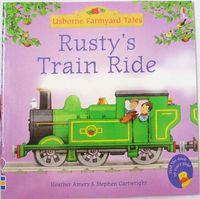 #1493 Usborne Farmyard Tales 英文故事書 Rusty's Train Ride, 圖書 [課外書]
