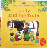 #1491 Usborne Farmyard Tales 英文故事書 Dolly and the Train , 圖書 [課外書]