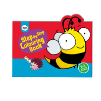 #2010 Step By Step Colouring Book  Initiate Course 2-3歲 ,     填色畫冊