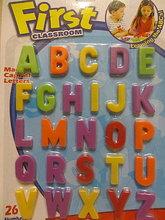 【售罄】#1013 大寫字母冰箱/白板磁貼,益智玩具