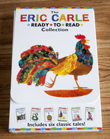 #1954 The Eric Carle Ready To Read Collection , 1套6本 ,英文繪本 , 課外書
