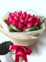 情人節19枝紅玫瑰花束 #AF1833