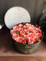 19朵粉色玫瑰520花盒#AF210