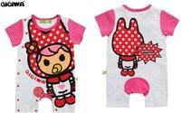 特價 夏季 牛奶妹粉紅 嬰兒 bb衫 夾衣 6632
