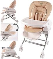 Baby Star /Hi-Lo Swing /嬰兒/兒童/多功能餐椅/可升降/可調節/搖籃/高低動輪/ 高腳/升級版/High Chair