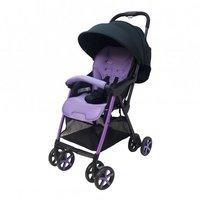 Evenflo 超輕量 輕便 雙向 單手收車 多角度靠背 5點式安全帶 紫色 嬰幼兒手推車 bb車 4 kgs D4830Evenf