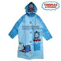 dinsey Thomas & Friends 帶書包位nc童雨褸 雨衣