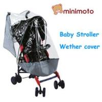 Minimito 嬰兒手推車 雨篷 雨罩 雨擋 rain cover