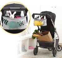 Launching the Canada-3 sprouts raccoon stroller organizer 加拿大BB車掛籃