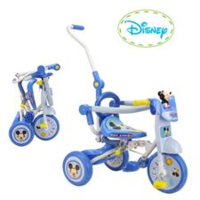 特價 正版 disney Mickey 摺合 兒童 三輛車