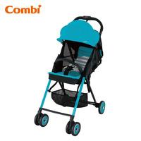 日本 / Combi / F2 Plus AF / 特價 / 輕量 / 高坐位 / 單手收車 / 高挑型 / 嬰幼兒手推車 / bb車/淺藍色/ 3,9 kgs