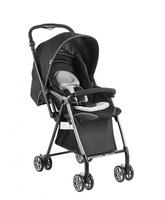 Geoby 50cm 特價 高景觀 雙向 單手收車 超輕量 可站立 嬰幼兒手推車 bb車 灰黑色 4.2kgs 829U