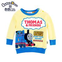 Thomas 厚款 抓毛 小童 bb 長袖 衛衣 T恤 童裝 7571