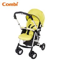 日本 Combi Urban Walker Lite 特價 雙向 單手收車 加厚軟墊 大車篷 嬰幼兒手推車 bb車 綠色 6.6 kgs