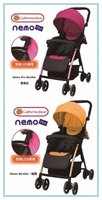 California Bear Nemo Pro 輕便 超輕量 四輪避震 無段式可調背靠 5點式安全帶 嬰幼兒手推車 bb車 5.6 kgs