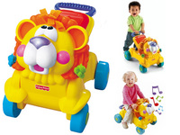 Fisher-Price 兩用獅子聲光踏步車