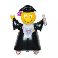 慶祝學校畢業典禮全身哈哈笑 氫氣球(包充氦氣) Congrats Graduation balloon (現貨款)