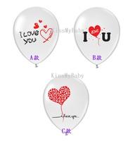 ★ 獨家新款★  I LOVE U 3款 情人節氦氣球 結婚  Love Wedding Valentine Balloon求婚道具(現貨)