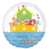 B41 18寸BB款 百日宴氦/氫氣球 Baby Shower Party Balloon (訂貨)