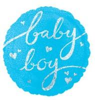 B07 18寸BB款 百日宴氦/氫氣球 Baby Party Balloon (現貨)