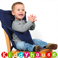 bb嬰幼兒用品~Sack' n Seat便攜寶寶餐椅背帶(深藍) OT087 現貨